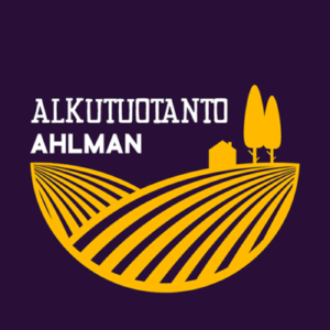 Violetti logo, Ahlman alkutuotanto
